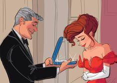 Pretty Woman illustration #art / Disegno illustrazione di Pretty Woman - Interpretation/Interpretazione by Daemion Elias George-Cox