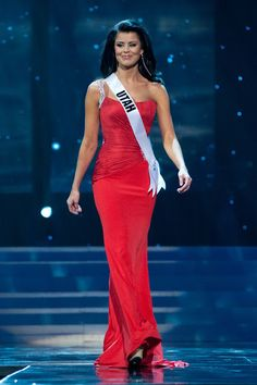 Nick Verreos: Beauty Pageant Minute: Miss USA 2012 Preliminary Competition Evening Gowns