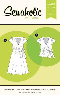 Sewaholic: Yaletown Dress & Blouse (1403)