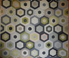 hexagons - Mary on Lake Pulaski: My Two Girls!