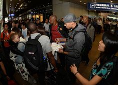 View photos for Warriors Arrive in Beijing - 10/12/13 Ayesha And Steph Curry, China Travel, China Trip, Golden State Warriors, Travel Abroad, North Face Backpack, Beijing, View Photos