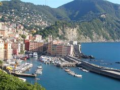 Camogli, Italy (near Portofino) day 8 cruise excursion by boat to this fishing vilage