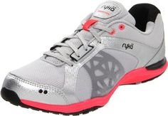 RYKA Women's Exertion Shoe,Chrome Silver/Black/Coral Rose,5 M US Ryka, http://www.amazon.com/dp/B0089K85OQ/ref=cm_sw_r_pi_dp_8eW7qb04X04FY