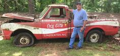 It's hard to put a price on novelty, but that's what the seller of a former Coca-Cola owned delivery truck is trying to do with a tired 1970 Chevy short-box pickup. There's limited information about these Coke-branded vehicles,. Ford Trucks, 72 Chevy Truck, Custom Chevy Trucks, Lifted Chevy Trucks, Chevy Pickups, Chevrolet Trucks, Pickup Trucks, Chevy C10, Diesel Trucks