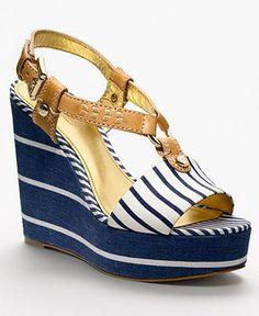 COACH GWYNN WEDGE... #LadiesStylish #Shoes #Wedges