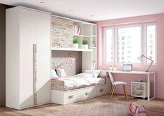 Mueble juvenil con plenitud de ideas, posibilidades, soluciones y un diseño que no podrás dejar de mirar.