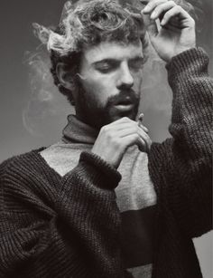 """""""Penny Dreadful"""" actor Harry Treadaway covers the November 2015 issue of Numéro Homme China photographed by photographed by Raf Stahelin."""