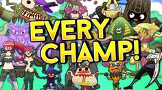 EVERY CHAMPION IN LEAGUE OF LEGENDS SPOTLIGHT