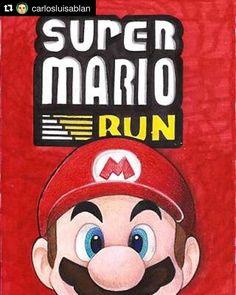 #Repost @carlosluisablan with @repostapp  Celebrando el lanzamiento de súper mario run por primera vez en una plataforma que no es de Nintendo. Éxito asegurado por millones. #mario #mariobros #supermariobros #nes #famicon #bowser #peach #supermariorun #supermarioworld #supermariogalaxy #supermariogalaxy2 #nintendo #supernintendo #nintendo3ds #ios #apple #itunes #iphone #ipad #videogame #wii #wiiu