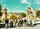 Visita del presidente Diego Romero Marín y los diputados a Luque, y Proyecto de reparación del  Ayuntamiento de Luque, 1980
