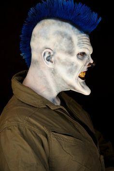 foam latex appliances, foam latex prosthetics, Halloween, Clown, evil clown, IT