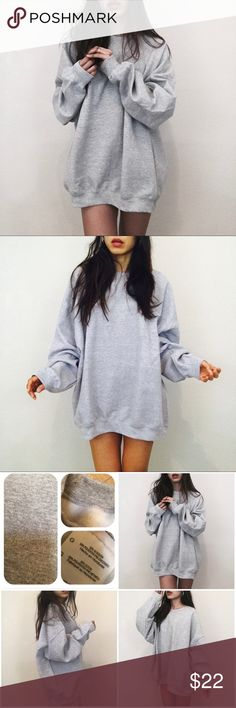 "Brand new oversized sweater shirt Brand new  Size 2XL Length 30"" Bust 50"" Price firm no offer no freeship Sweaters"