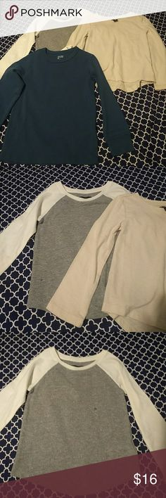 Gap Girls long sleeve Tees New Excellent condition Girls 4-5 T GAP Shirts & Tops Tees - Long Sleeve