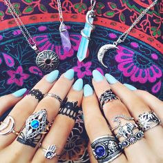 breathtaking blue. Wow. So magical. #beautiful #boho