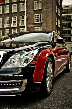 Maybach - Black & Red