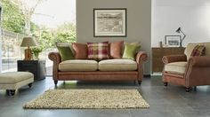 Discover exclusively designed, luxurious fabric & leather sofas, corners, chairs and footstools. Feel at home on a sofa you love with Sofology. Fabric Sofa, Cushions On Sofa, Sofa Bed, Sofa Workshop, Bedroom 2018, Vintage Sofa, Leather Sofa, Soft Leather, Living Room Inspiration