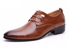 The Versatile Derby - Leather Smart Casual