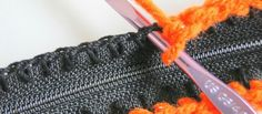 The Perfect Way To Add A Zipper To Your Crochet Project - Knit And Crochet Daily