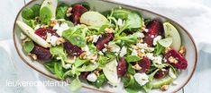Frisse salade die binnen een paar tellen op tafel staat! Lekker als lunch of bijgerecht