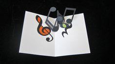 music card by Becca Zerkin, via Behance