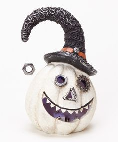 This reminds me of the mayor from the nightmare before Christmas. I have to have it