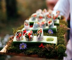 Vegetarian Spring Rolls Created by Peter Callahan.