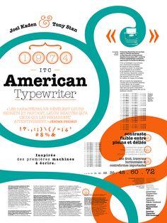 / American Typewriter on Behance