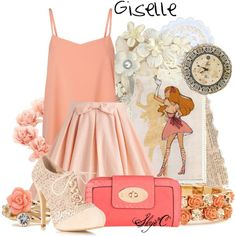 """""""Giselle - Disney's Enchanted"""" by rubytyra on Polyvore"""