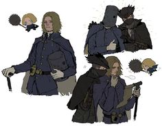 Hidetaka Miyazaki, Bloodborne Art, Soul Game, Old Blood, Fandom Games, Dark Souls, The Elf, Character Design Inspiration, Fantasy Characters