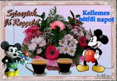 Good Morning, Mickey Mouse, Disney Characters, Figurative, Buen Dia, Bonjour, Good Morning Wishes, Baby Mouse