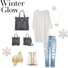 """""""Winter Glow"""" by newlieco on Polyvore"""