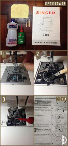 Como limpar sua máquina de costura | How to clean your sewing machine