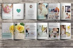 Wedding Photography Brochure/Booklet by SmmrDesign on @creativemarket