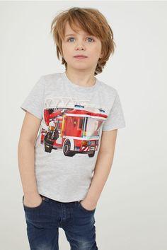 T-shirts - Grey marl/Lego - Kids Boys Curly Haircuts, Boy Hairstyles, Curly Hair Cuts, Medium Hair Cuts, Pretty Boys, Cute Boys, Cute Blonde Boys, Beauty Of Boys, Boys Underwear