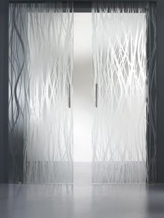 Durable etched glass shower panels will hide you from the eyes of anybody who may come into your shower or bathroom.