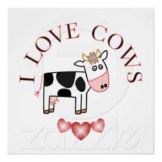 I <3 cows