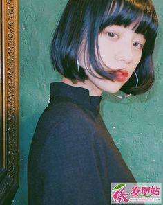 Girl Short Hair, Face Hair, Japanese Girl, Bob Hairstyles, Girl Power, Beauty Women, Asian Beauty, Asian Girl, Short Hair Styles