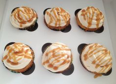 Salted Carmel Birthday Cupcakes...