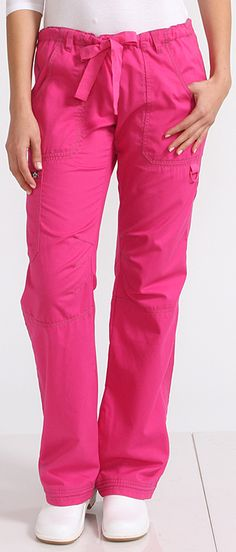 Koi's Lindsey pants...the best, most comfortable scrub pants ever!  Pricey but so worth it $29.99