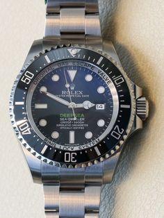 Rolex Deepsea Sea-Dweller D-Blue Watch For James Cameron Hands-On Hands-On