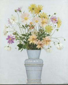 BOUQUET DE FLEURS DES CHAMPS by Bernard Boutet de Monvel (French 1881-1949) ; FLOWERS IN A VASE, C. 1930 ; OIL ON CANVAS