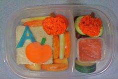 APPLE DAYS BENTO // Apple Inspired Lunch Ideas for Kids