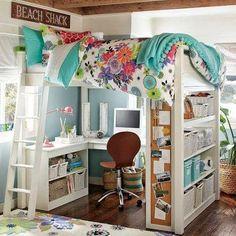 Cómo organizar habitaciones infantiles pequeñas | Decorar tu casa es facilisimo.com