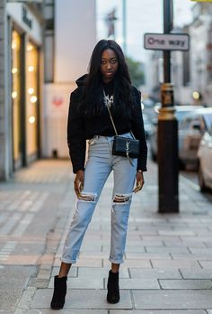 London Fashion Week Street Style Spring 2017: See All the Best Looks   StyleCaster