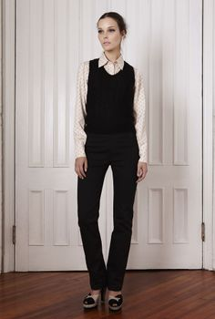 tocca fall 2012 | Sometimes just a nice set of double doors will do as background