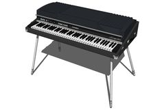 Fender Rhodes Electric Piano, Digital Piano, Vintage Keys, Rhodes, Musical Instruments, Inventions, Keyboard, Website, Live