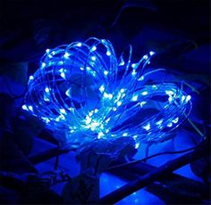 Tosangn 30 LEDs Battery Operated Decoration Xmas 3M String Lights For Party Wedding (Blue) - Brought to you by Avarsha.com
