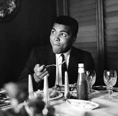Silence is golden when you can't think of a good answer. ~ Muhammad Ali