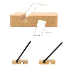 Universal Mobile Phone Holder Stand Wooden Holder For Phone iPhone 11 X 7 Xiaomi Samsung Desk Tablet Stand Cell Phone Holder Diy Wooden Projects, Wood Projects That Sell, Wood Shop Projects, Woodworking Projects Diy, Diy Phone Stand, Wood Phone Stand, Tablet Stand, Wooden Phone Holder, Cell Phone Holder