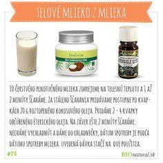 Vyrobte si domáce telové mlieko z mlieka #diy